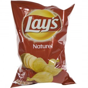 Lays Chips  Naturel   Stuk  85 g