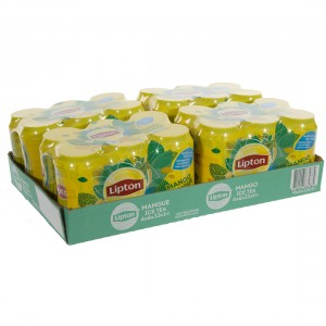 Lipton BLIK  Mango  33 cl  Blik 24 pak