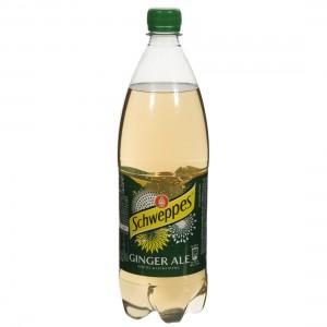 Schweppes Ginger Ale PET  1 liter   Fles