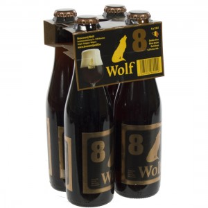 Wolf  Donker  8  33 cl