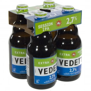 Vedett session IPA  33 cl  Clip 4 fl