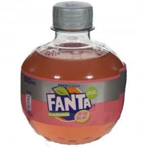 Fanta  PET  Pink Pomelo  25 cl   Fles