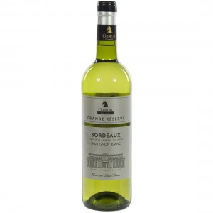 Gaston Bordeaux Gr. Res. Blanc Sauvignon  75 cl   Fles