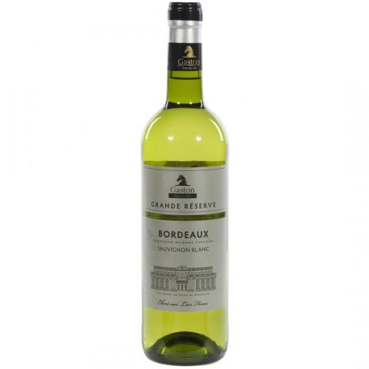 Gaston Bordeaux Gr. Res. Blanc Sauvignon  75 cl   Fles