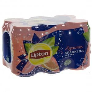 Lipton BLIK  Agrum Sparkling  33 cl  Blik  6 pak
