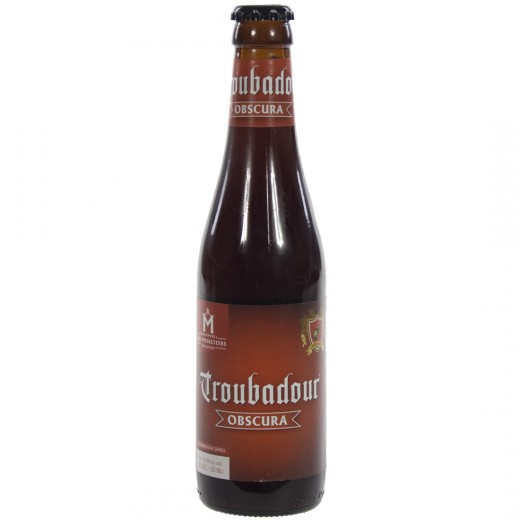 Troubadour  Donker  Obscura  33 cl