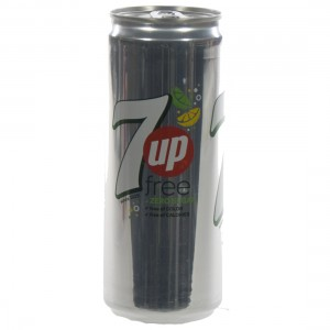 7 up  Zero  33 cl  Blik
