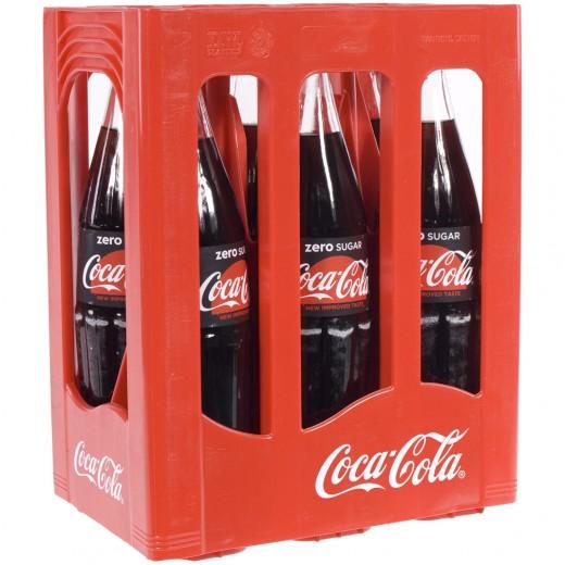 Coca Cola  Zero  1 liter  Bak  6 fl
