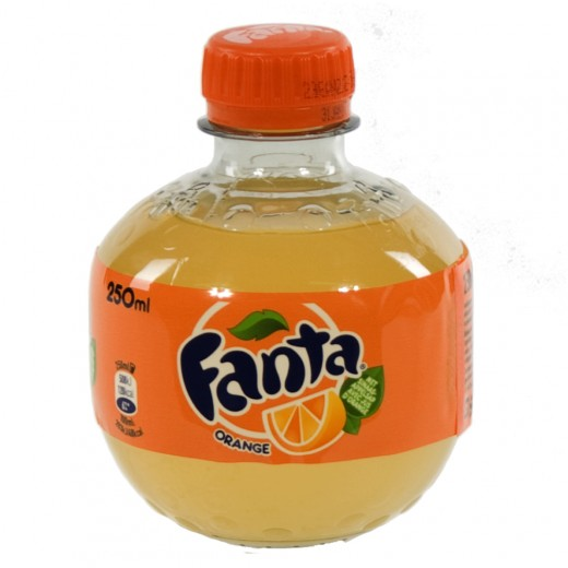 Fanta  PET  Orange  25 cl   Fles