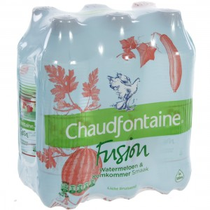 Chaudfontain Fusion Pet  Watermelon  50 cl  Pak  6 st