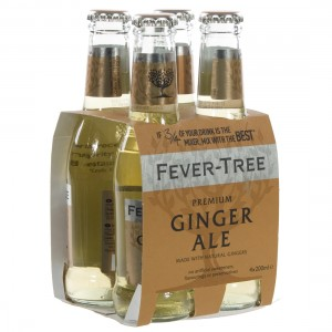 Fever Tree  Ginger Ale  20 cl  Clip 4 fl