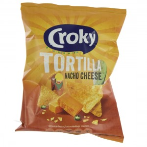 Croky Chips  Nacho cheese   Stuk  40 g