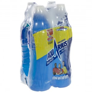 Aquarius  Blue Berry  50 cl  Pak  4 st