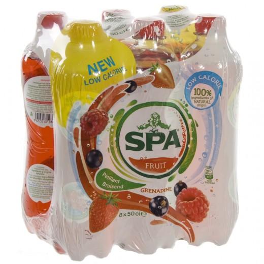 Spa limonade PET  Grenadine  50 cl  Pak  6 st
