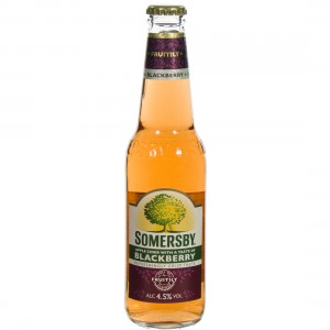 Somersby Apple cider 4.5%  Blackberry  33 cl   Fles