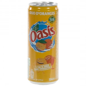 Oasis BLIK  Orange  33 cl  Blik