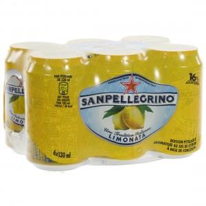 San Pellegrino Limonata  33 cl  Blik  6 pak