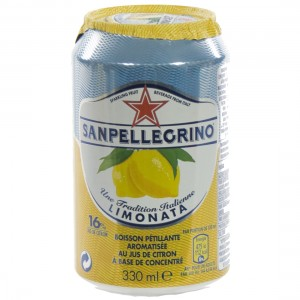San Pellegrino Limonata  33 cl  Blik