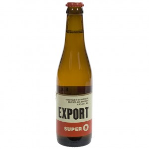 Haacht Super 8 export  Blond  33 cl   Fles