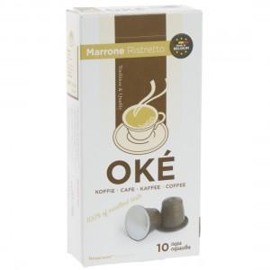 Oke Cups Marrone Ristretto  Pak 10 st