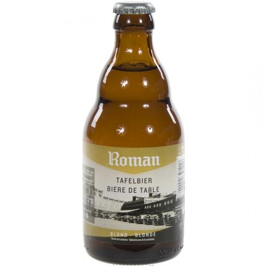 Roman Tafelbier  Blond  33 cl   Fles