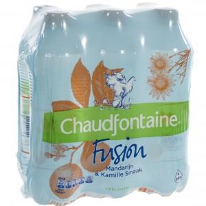 Chaudfontain Fusion Pet  Mandarine  50 cl  Pak  6 st