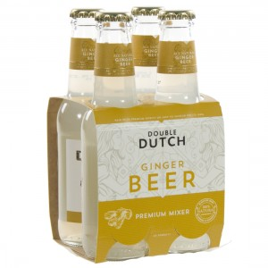 Double Dutch Tonic  Ginger Beer  20 cl  Clip 4 fl