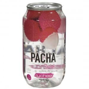 Pacha limonade  Lychee  33 cl  Blik