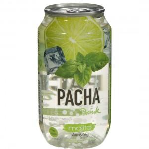 Pacha limonade  Mojito  33 cl  Blik