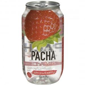 Pacha limonade  Aardbei  33 cl  Blik