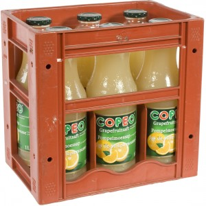 Copeo fruitsap  Pompelmoes  1 liter  Bak  6 fl