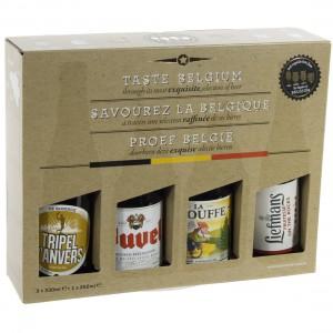 Geschenkverpakking Taste Belgium  4Fles
