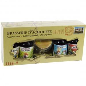 Chouffe Mix Geschenkverpakking  33 cl  4fles+ 1glas