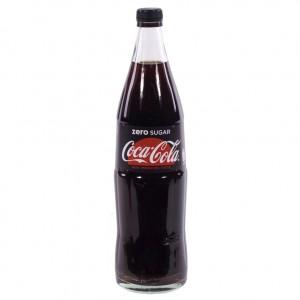 Coca Cola  Zero  1 liter   Fles