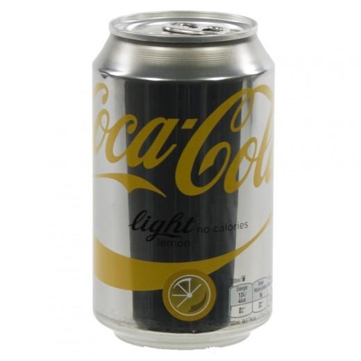 Coca Cola  Light Lemon  25 cl  Blik