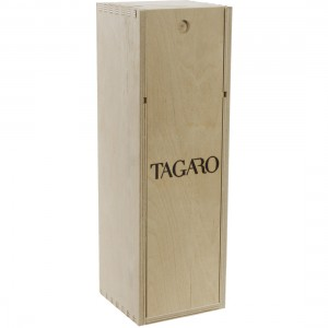 Tagaro Pignataro Negroamaro houten kist  1,5 liter  Kist 1fles