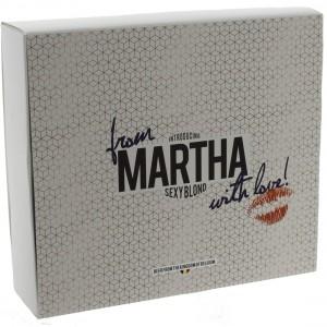 Martha Geschenk  2fles+ 1glas