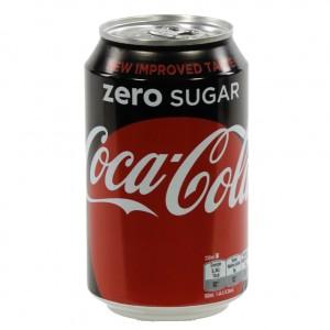 Coca Cola  Zero  33 cl  Blik