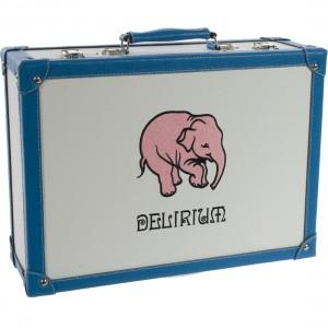 Delirium Koffer geschenk  33 cl  4fles+ 1glas