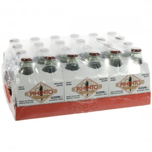 Pimento Spicy Ginger Ale  25 cl  Pak 24 st