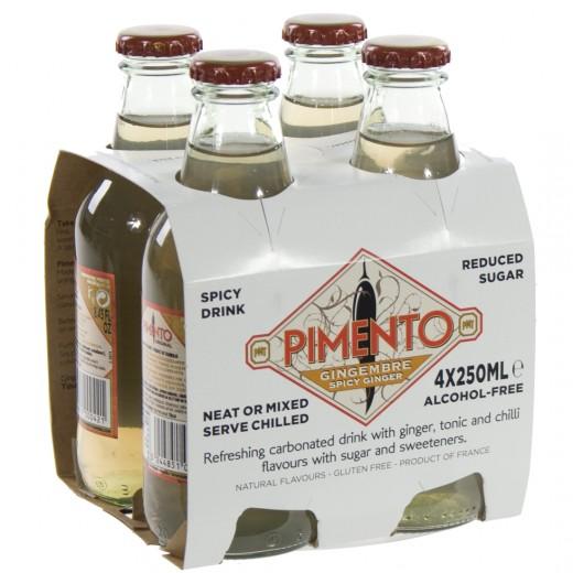 Pimento Spicy Ginger Ale  25 cl  Pak  4 st