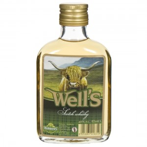 Well's Whisky 40%  20 cl
