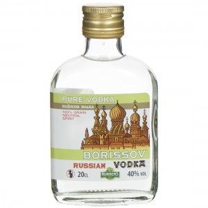 Borissov Russian Vodka 40%  20 cl