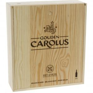 Gouden Carolus Cuvee vd Keizer imperial dark kist  75 cl  kist 3 fl