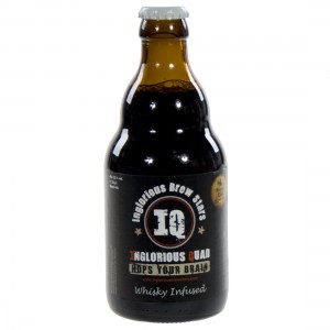IQ Inglorius Quad Whisky Infused  33 cl   Fles