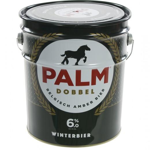 Palm Dobbel Geschenkverpakking Emmer  25 cl  4fles+ 1glas